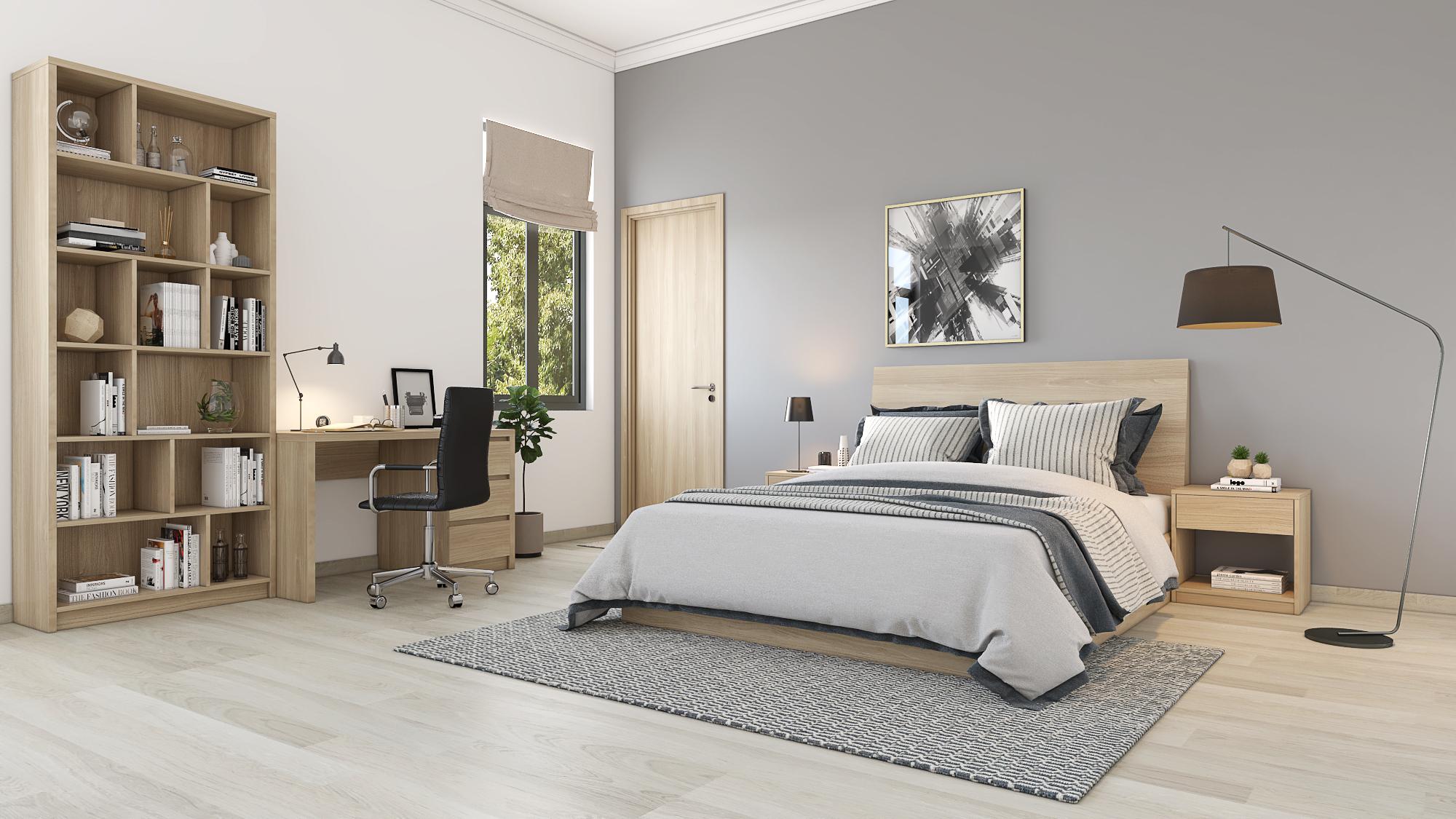 Bộ giường ngủ 01: TP-G01