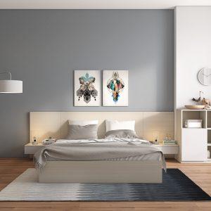 Bộ giường ngủ 02: TP-G02